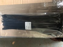 CABLE TIES 370mm X 4.8mm BLACK