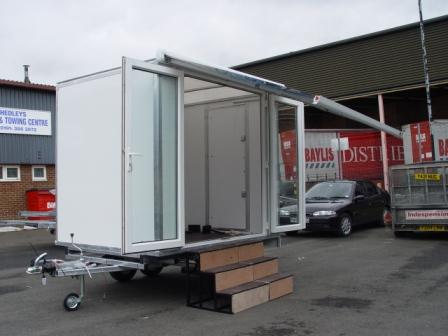 8 X 6 Trailer with Canopy