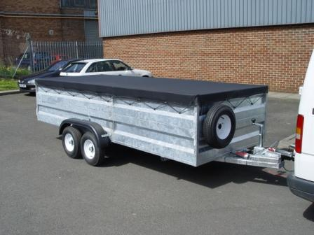 10ft x 4ft 30 highsides 2000kg trailer from £