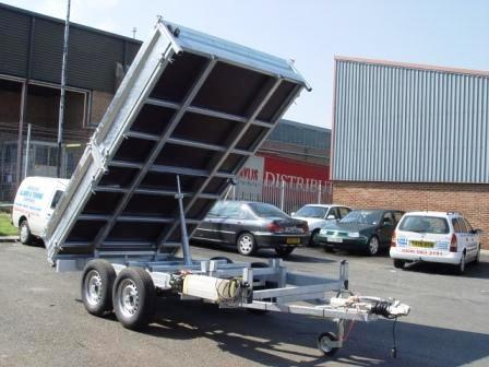 10 X 7 TIPPER TRAILER